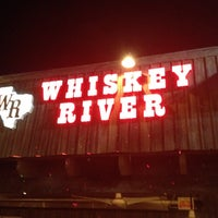 Photo taken at Whiskey River Dancehall & Saloon by Nick J. on 3/23/2012