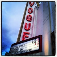 Photo taken at Vogue Theatre by Mark D. on 5/4/2012