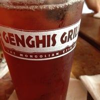 Photo taken at Genghis Grill by Amanda T. on 8/10/2012