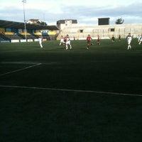 Photo taken at Estadio Ruben Marcos Peralta by Marcelo R. on 7/29/2012