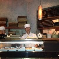 Photo taken at Blue Ribbon Sushi by Scott on 8/18/2012
