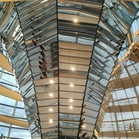 Photo taken at Reichstag Dome by Monica G. on 8/12/2012