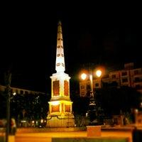 Photo taken at Plaza de la Merced by Angel d. on 7/28/2012