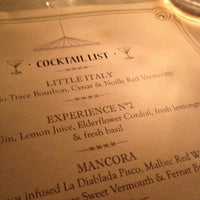 Photo taken at Experimental Cocktail Club by Ian W. on 6/20/2012