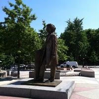 Photo taken at Frederick Douglass Circle by John P. on 5/18/2012