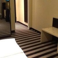 Photo taken at Bristol Hotel by Greet V. on 7/18/2012