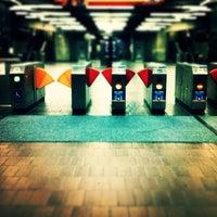 Photo taken at Hayward BART Station by Inno O. on 2/4/2012