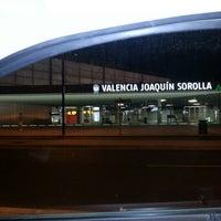 Photo taken at Estació de Valencia Joaquín Sorolla - AVE by Christian M. on 9/1/2012