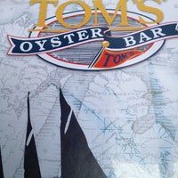 Photo taken at Tom's Oyster Bar by Erin M. on 6/17/2012