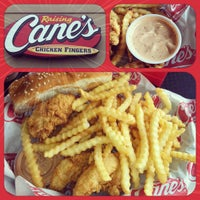 Photo taken at Raising Cane's Chicken Fingers by Katie G. on 4/16/2012