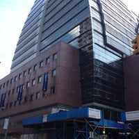 Photo taken at Baruch College - William and Anita Newman Vertical Campus by Katharina on 8/13/2012
