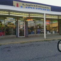 Photo taken at Lighthouse Liquors by Michael H. on 8/1/2012