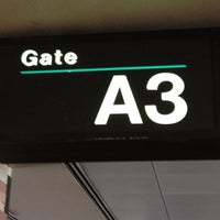 Photo taken at Gate A3 by Catherine M. on 5/21/2012