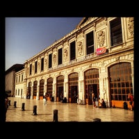 Photo taken at Gare SNCF de Marseille Saint-Charles by Davy D. on 8/21/2012