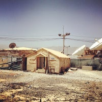 Photo taken at Bagram Airfield (OAI) by Mike C. on 7/15/2012