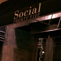 Photo taken at Social Twenty Five by Angela M. on 5/8/2012