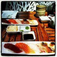 Photo taken at Yen Sushi Karaoke & Lounge by Daniela d. on 5/12/2012