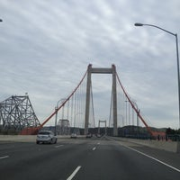 Photo taken at Carquinez Bridge by Hallifax J. on 5/3/2012