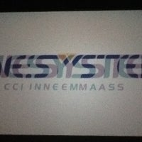 Photo taken at Cinesystem by Raquel S. on 7/24/2012