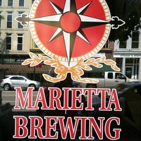 Photo taken at Marietta Brewing Company by Morgan on 8/19/2012