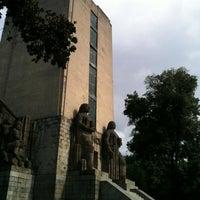 Photo taken at Monumento al General Alvaro Obregón by Paula Verónica G. on 8/14/2012