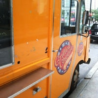 Photo taken at Grilled Cheese Nation Food Truck by Vivek V. on 7/31/2012