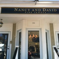 Photo taken at Nancy and David Fine Jewels by Downtown M. on 3/30/2012