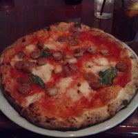 Photo taken at Bavaro's Pizza Napoletana & Pastaria by Cynda R. on 5/25/2012