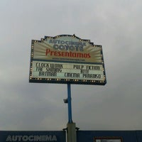 Photo taken at Autocinema El Coyote by Fernanda V. on 5/7/2012