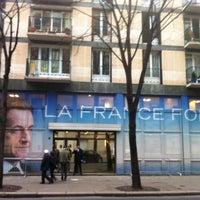 Photo taken at Siège de campagne de Nicolas Sarkozy by antoine c. on 5/6/2012