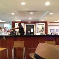 Photo taken at Delta Sky Club by Ed O. on 8/19/2012