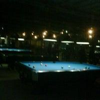 Photo taken at Berlian Billiard & Cafe by herry k. on 8/1/2012