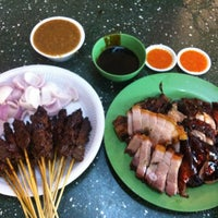 Photo taken at Bedok Interchange Hawker Centre by Sarah K. on 7/18/2012