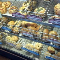 Photo taken at Einstein Bros Bagels by Holly on 6/9/2012