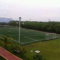 Photo taken at Universidad del Caribe by Jonathan P. on 9/13/2012