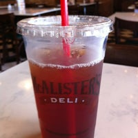 Photo taken at McAlisters Deli by Y M. on 3/14/2012