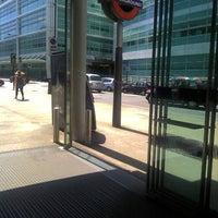 Photo taken at Euston Square London Underground Station by Steve C. on 6/20/2012