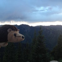 Photo taken at The Sundeck at Aspen Mountain by Renate R. on 6/16/2012