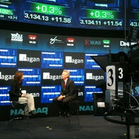 Photo taken at Nasdaq Marketsite by jon a. on 3/27/2012