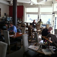 Photo taken at Mission Beach Cafe by Mitch_In_SF on 4/2/2012