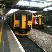 Photo taken at Exeter St Davids Railway Station (EXD) by Jim K. on 8/13/2012