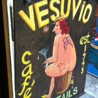 Photo taken at Vesuvio Cafe by Pamela K. on 6/23/2012