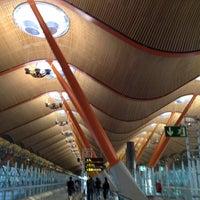 Photo taken at Terminal 4 Satélite by Barbara C. on 8/22/2012