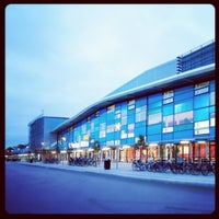 Photo taken at Halmstad Arena by jonas_halmstad on 3/18/2012