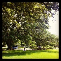 Photo taken at Menil Park by Henry's Hungry Houston on 3/31/2012