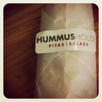 Photo taken at Hummus House Pitas and Salads by Tim H. on 5/18/2012