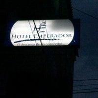 Photo taken at Hotel Emperador by Rulo R. on 5/24/2012
