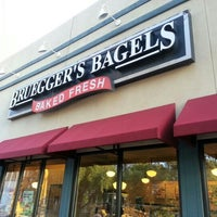 Photo taken at Bruegger's Bagels by Laurie J. W. on 9/6/2012