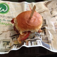 Photo taken at Wahlburgers by Chuck S. on 4/18/2012