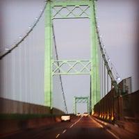 Photo taken at Vincent Thomas Bridge by Pepot D. on 9/2/2012